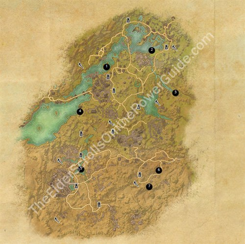 ESO Treasure Maps Guides