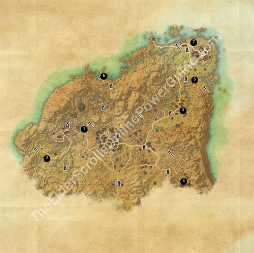 Rivenspire Treasure Map Locations