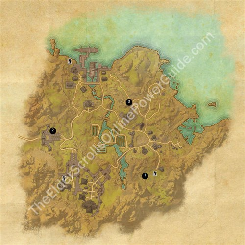 Bal Foyen Treasure Map Locations