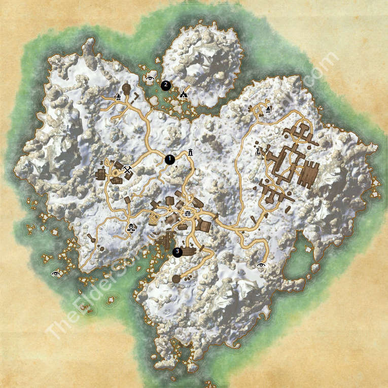 ESO Treasure Maps Guides on