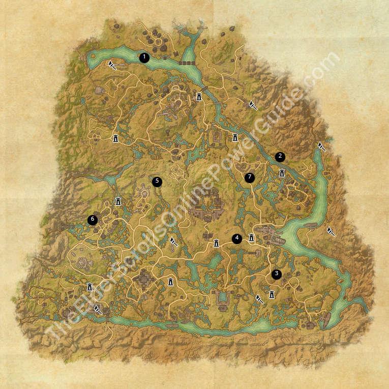 eso treasure maps guides