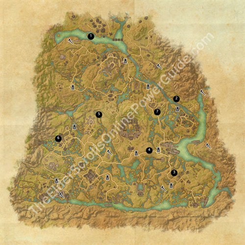 Shadowfen Treasure Map Locations